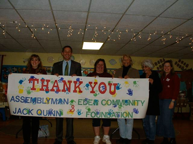 A Thank You From Assemblyman Jack Quinn